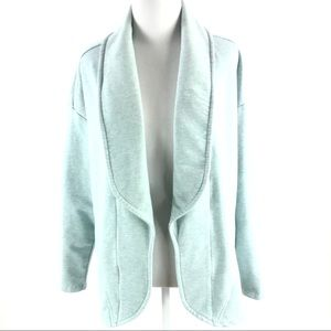 H by Halston open front jersey cardigan